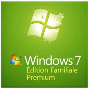 Microsoft Windows 7 Édition Familiale Premium SP1 OEM 64 bits