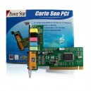 Carte son PCI 5.1 oem cmedia 8738-lx