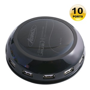 HUB-900UBHUB PLEXIGLAS USB2.0    10PORTS