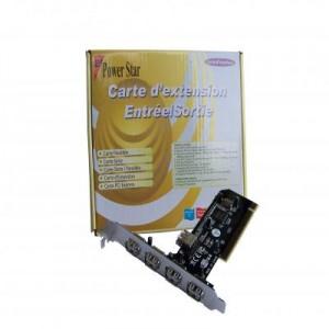Carte PCI USB 5 ports chipset NEC