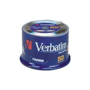 100 CD-R Verbatim spindle