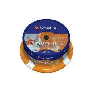 10 DVD-R Verbatim