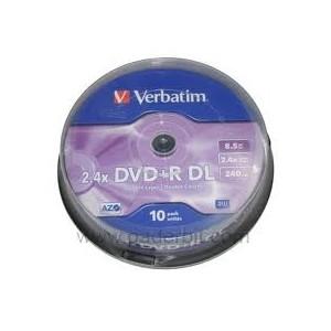 1 DVD+R Double Couche 8.5Go Verbatim
