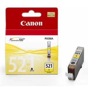 Cartouche d'encre Canon CLI-521Y