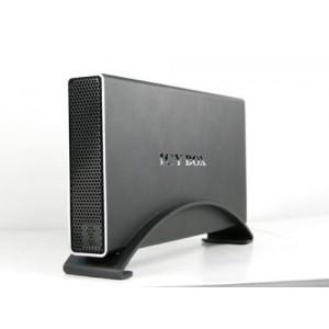 """Icy Box - IB-318StUS2-B - Boîtier Externe pour Disque Dur 3.5"""" SATA - USB 2.0/eSATA - Noir"""