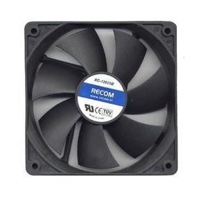 Ventilateur Recom Black Blower 140 mm