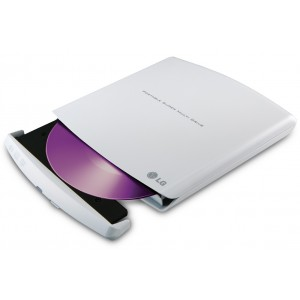Graveur DVD LG Slim externe Blanc