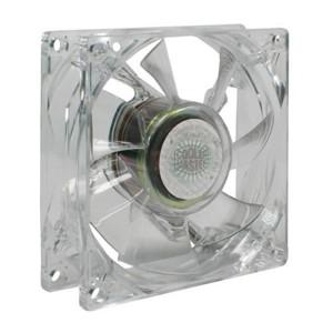 Ventilateur de boitier Cooler Master 8cm Led Bleu