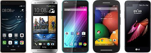 réparation smartphone Huawei, HTC, Wiko, Motorola, LG...